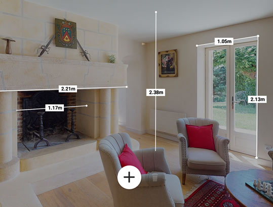 Prise de mesure Matterport Dordogne 3D